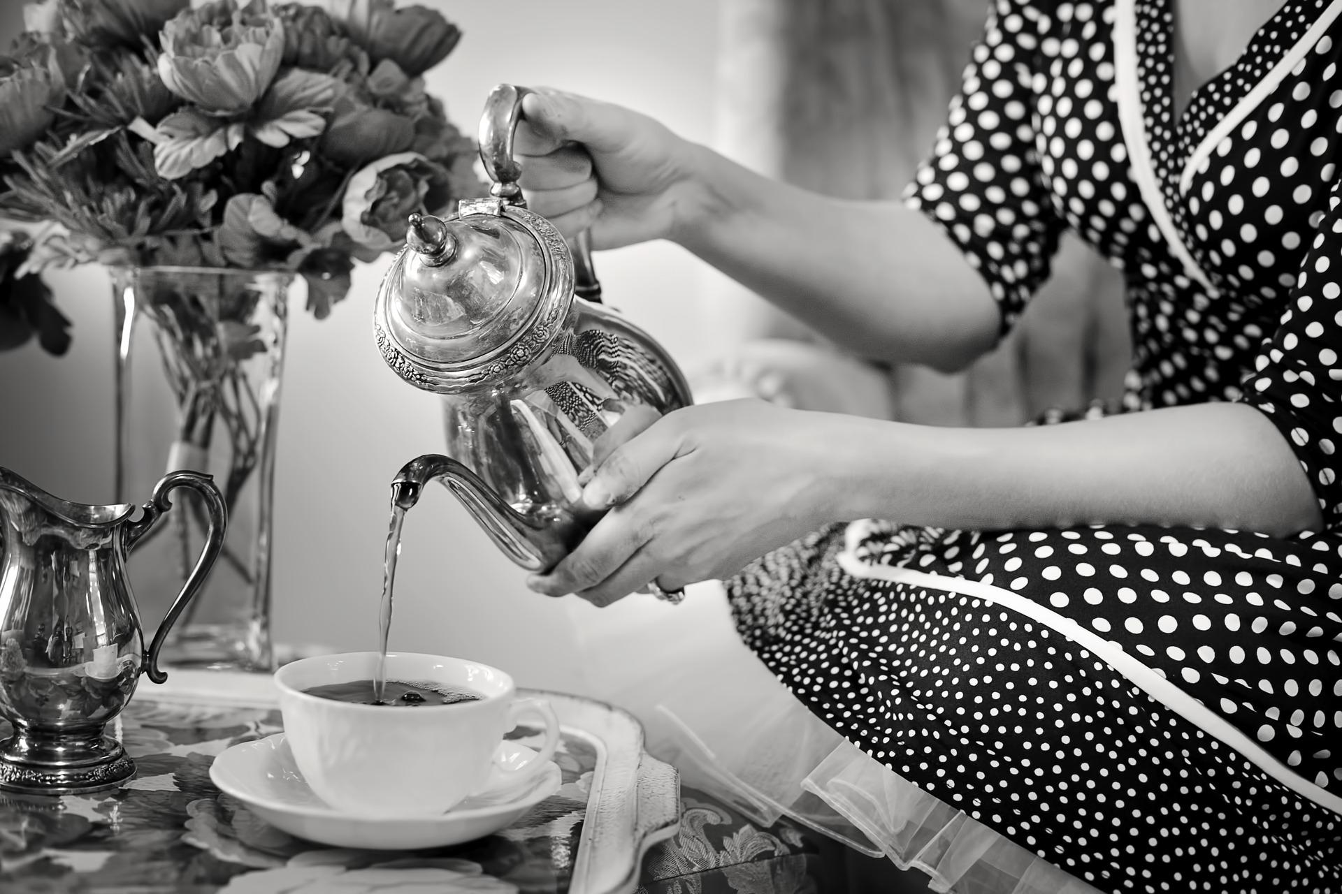 schenk jij al een gratis kopje thee?